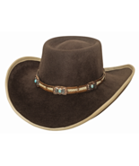 Bullhide Mind Reader Wool Gambler Cowgirl Hat B... - $69.00