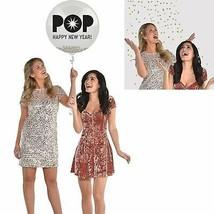 Pop Happy New Year Confetti Balloon 24in - $6.57