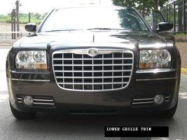 CHRYSLER 300 300C CHROME GRILLE/BUMPER TRIM 05 06 07 08 - $33.00