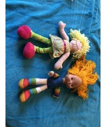 VINTAGE 1983 Rainbow Brite Doll & Curious George  Freind - $24.74