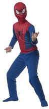 The Amazing Spider-Man 2  Costume for Boys size 3-4 New by Rubies - £13.97 GBP