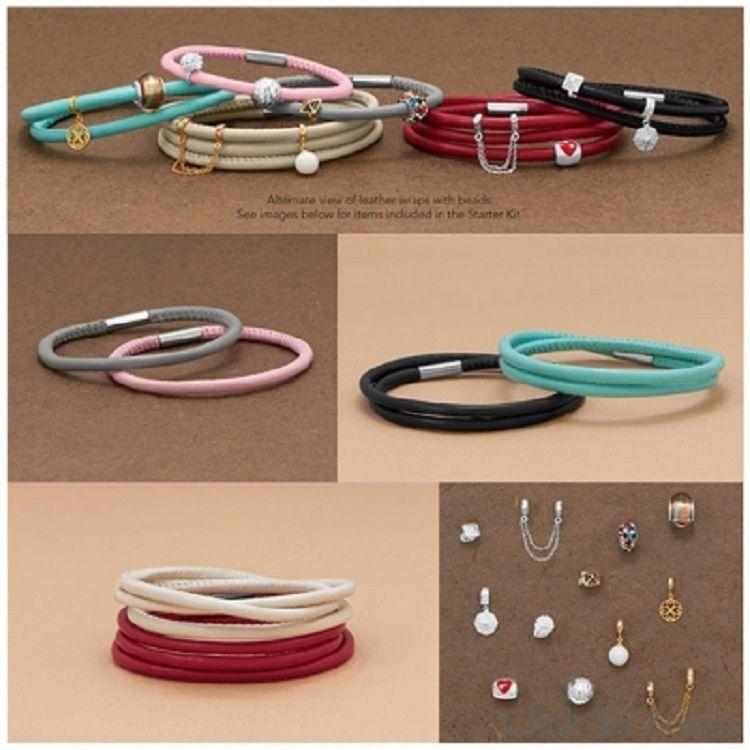 Starter set for the serious leather bracelet addict