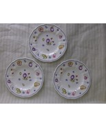 Lot of 3 Royal Crown Derby Chatsworth Fruit Bre... - $28.99