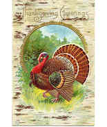 Thanksgiving Greetings Vintage 1913 Post Card - $6.00