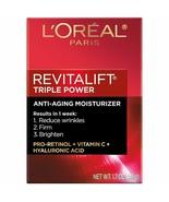 L'Oréal Paris Revitalift Triple Power Intensive Anti-Aging Face Moisturi... - $16.82