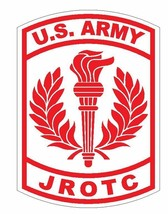 US Army JROTC Sticker Military Decal M463 Red - $1.45 - $9.45