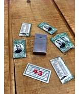 Vintage Gillette Razor Case with NOS Razers ant... - $29.02