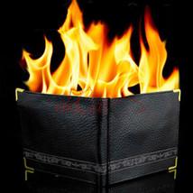 Fire Leather Wallet Macigian Street magic Hot Flame magic Trick - $7.91