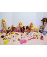 Large Lot of Dolls and play Accessories - $15.00