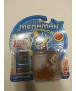 Mega Man NT Warrior TorchSoul PVC Figure With Battle Chip Mattel 2004 - $15.83