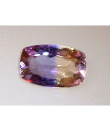 Bolivian Ametrine Cushion Cut Loose Gemstone 4.... - $59.00