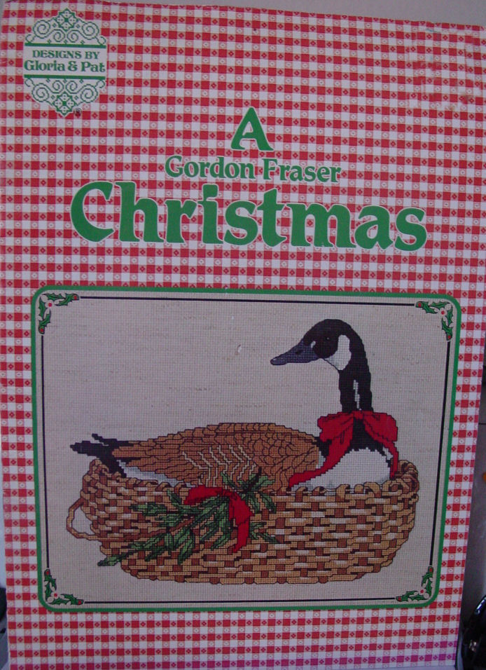"Cross Stitch Pattern Booklet ""A Gordon Fraser Christmas""  21 pages"