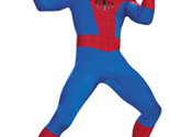 Men's Costume: Spiderman Deluxe - Rental Quality | 2XL