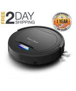 Automatic Robot Vacuum Cleaner  1200pa Strong Suction Slim boost iq Pet ... - $135.99