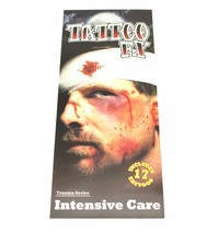 Halloween Trauma Patient Bloody Scars Tattoo Stickers Wound Scary Costum... - $4.99+