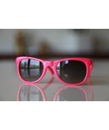 Classic Tortoise Sunglasses Hot Pink/ Dark Lenses - $14.00