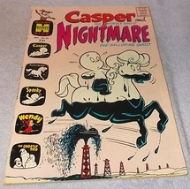Harvey Comic Book Casper the Friendly Ghost and Midnight No 25 - $7.95