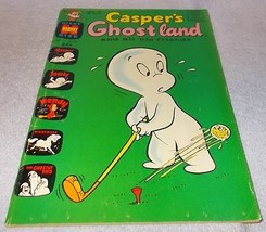 Harvey Comic Book Casper's Ghostland No 50 - $7.95