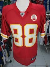 Trikot Kansas City Chiefs (M)#88 Tony Gonzalez Reebok NFL Jersey Shirt - $42.01