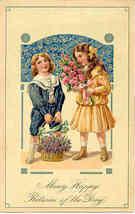 Happy Returns Paul Finkenrath of Berlin 1907  Post Card - $6.00