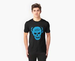 New Stone Cold Steve Austin Skull Men's Black T-Shirt D1 - $22.99