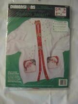 Dimensions multiple Iron On Transfers Fashion Jacket Kit - Jolly Santa NEW - $12.19