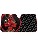 Marvel Deadpool Repeater Windshield Sun Shade Sunshade Accordion Bubble ... - €22,07 EUR