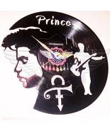 VINYL PLANET Wall Clock Roger Nelson PRINCE 3  Home Record Unique Decor ... - $27.26