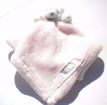 New Blankets & Beyond White Bear Pink Fluffy Soft Baby Security Blanket ... - $51.95 CAD
