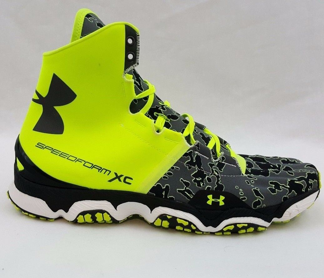 Under Armour Speedform XC Mid Trainer Tough Mudder Trail Shoes 1246698 731  10.5 64c66e1c9
