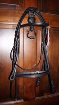 Bobby's FULL Sz Black Square Raised Bridle w/Sq... - $118.95