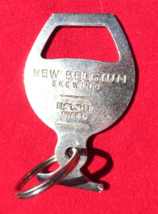 NEW BELGIUM Brewery Key Chain Bottle Opener Keyring Beer Colorado Brewing - $5.99