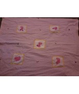 Pink Pony flower quilt IN STOCK - $50.00