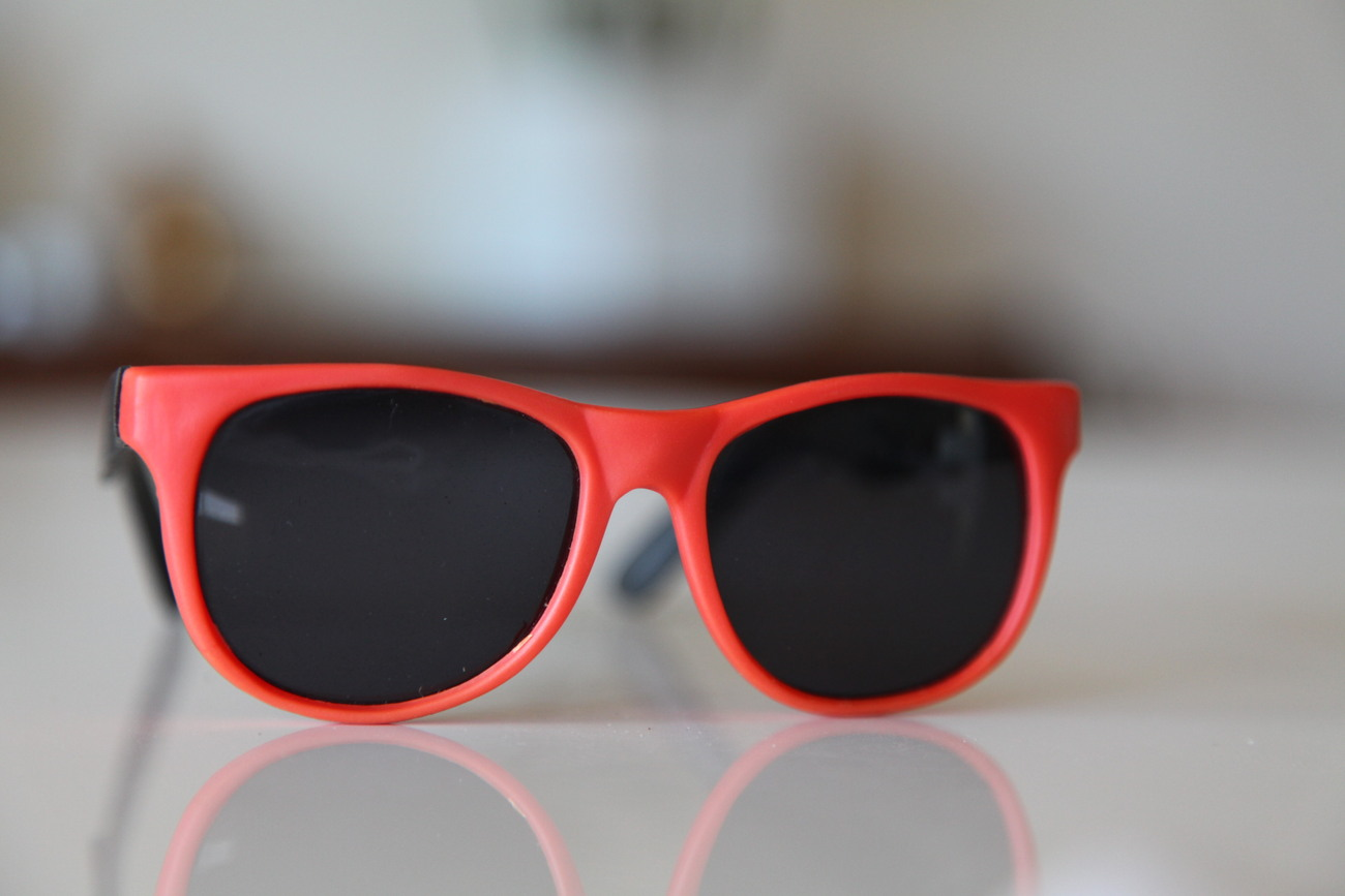 Classic Tortoise Sunglasses Orange/ Rubber/ Black/ Dark Lenses