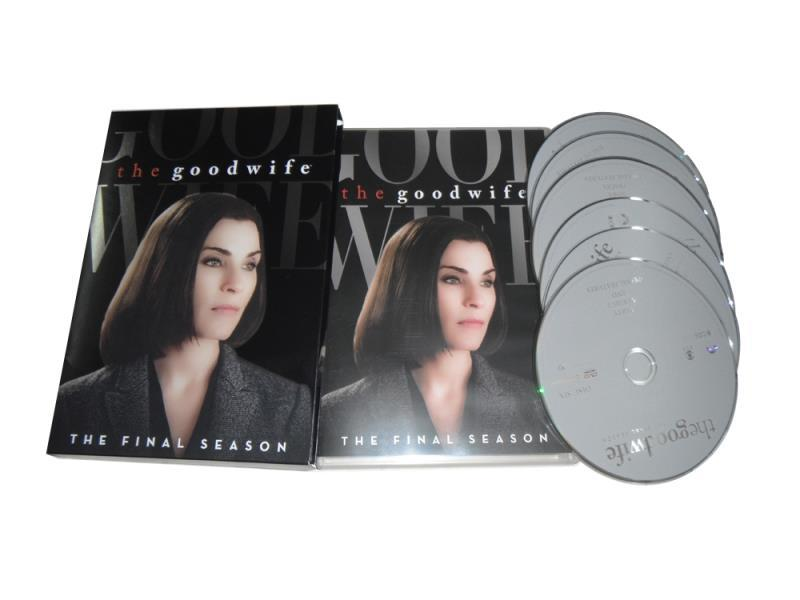 The Good Wife The Complete Seventh Season 7 DVD Box Set 6 Disc Free Shipping