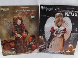 "Heavenly Messengers Plastic Canvas Patterns Needlecraft Shop ""Promise"" &... - $19.25"