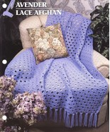 Lavender Lace Afghan Crochet Pattern Annie's At... - $6.99