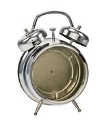 "Clock Frame Polished Silver 7"" x 4.5"" cross stitch accessory  - $10.00"