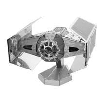 Metal Earth 3D Laser Cut Model - Star Wars: Darth Vader's TIE Fighter - $34.99