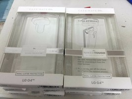 Case-Mate CM032657 Naked Tough Case for LG G4 - Retail Packaging - Clear... - $3.00