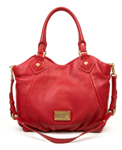 NWT MARC BY MARC JACOBS Classic Q Small Fran Wild Raspberry Leather Tote... - $348.00