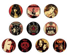 OBEY pop art rock n roll stars pin pinback button BADGE Magnet KEYCHAIN ... - $5.50+