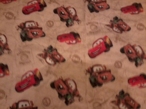Cars baby quilt IN STOCK