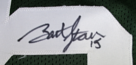 BART STARR / NFL HALL OF FAME / AUTOGRAPHED GREEN BAY PACKERS CUSTOM JERSEY COA image 5