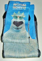 "2 NEW Pairs of NORM OF THE NORTH Movie SOCKS 1 Large 1 Small 4"" & 3"" wid... - $3.59"