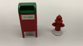 Dept 56 Heritage Village Collection Mail Box and Fire Hydrant #52140 - $9.85
