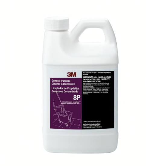 Primary image for NEW 3M 8P General Purpose Cleaner Concentrate 1.9 Liter 0.5Gallon Bottle 59709