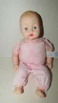 Madame Alexander baby doll sleep eyes molded hair stamped 1977 soft bean... - $17.81
