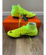 Nike Mercurial Superfly 6 Pro FG Soccer Cleats (Volt/Black) AH7368-701 Sz 8 - $89.00