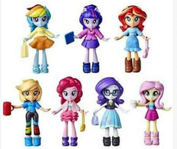 Hasbro MLP Equestria Girls Fashion Squad 7-Pack My Little Pony Dress Up ... - $55.00